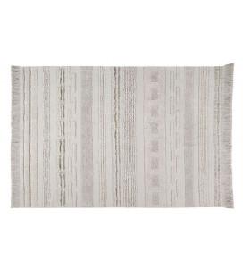 Tapis Coton Air Naturel 140/200 cm Lavable en Machine