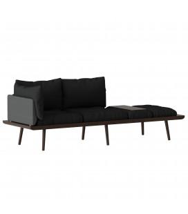 Lounge Around Sofa Chêne Foncé