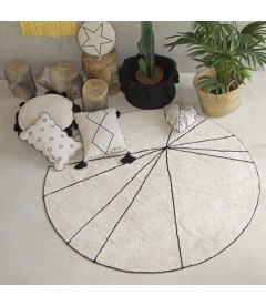 Tapis Ronds Lavable